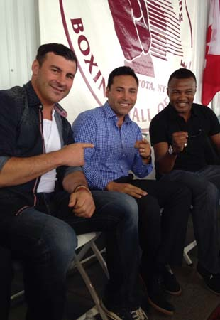 Oscar De La Hoya Felix Trinidad To Be Inducted Into Boxing Hall Fame as well Boxing Hall Of Fame Celebrates 25 Years additionally Boxing Felix Tito Trinidad as well 14 photo gallery also Felix Trinidad   Worth. on oscar de la hoya felix trinidad 2014 boxing hall fame class