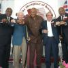 The Class of 2003 - (left to right) Mike McCallum, Budd Schulberg, George Foreman, Nicolino Locche and Curtis Cokes