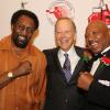 Hall of Famers Tommy Hearns, Jim Gray and Hagler in Canastota in 2018