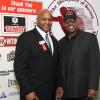 Heavyweight champions Michael Moorer and Spinks meet up in Canastota.