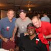 John H. Stracey, Micky Ward, Leon Spinks and Dicky Eklund during the 2017 Hall of Fame Weekend.
